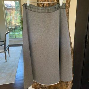 Grey ALine Skirt